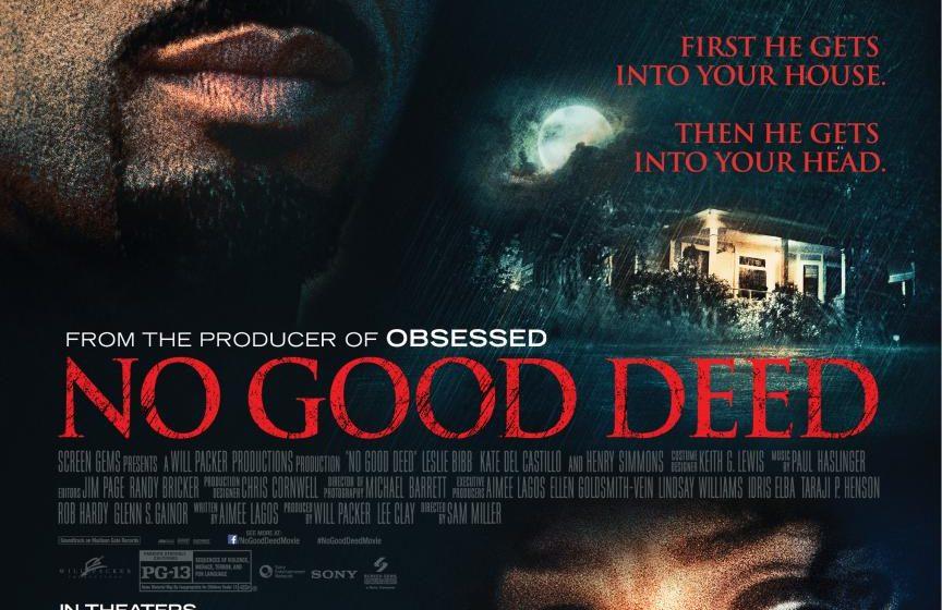 No Good Deed, rilasciato il poster ufficiale