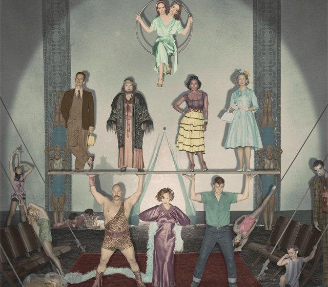 American Horror Story: Freak Show, il cast in un poster!