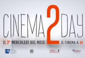 Cinema2Day: oggi 8 febbraio al cinema con 2€!