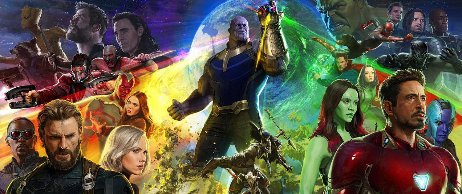 Avengers: Infinity War, il poster ufficiale!