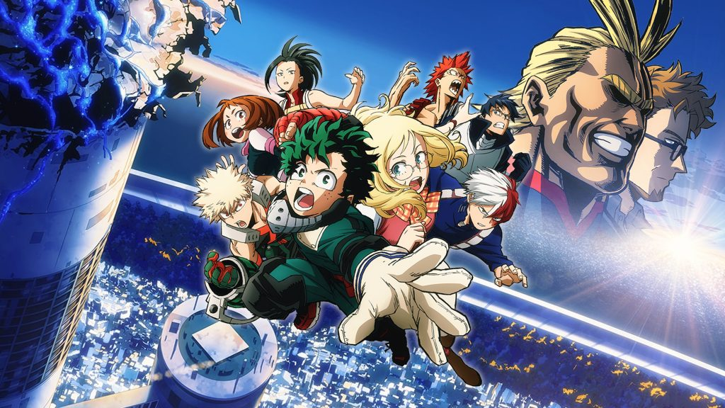My Hero Academia The Movie Twow Heroes