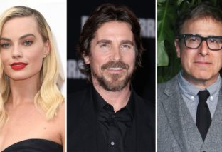 Regency, Margot Robbie e Christian Bale insieme