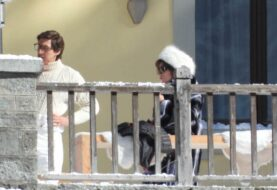 House of Gucci, Adam Driver e Lady Gaga sul set italiano